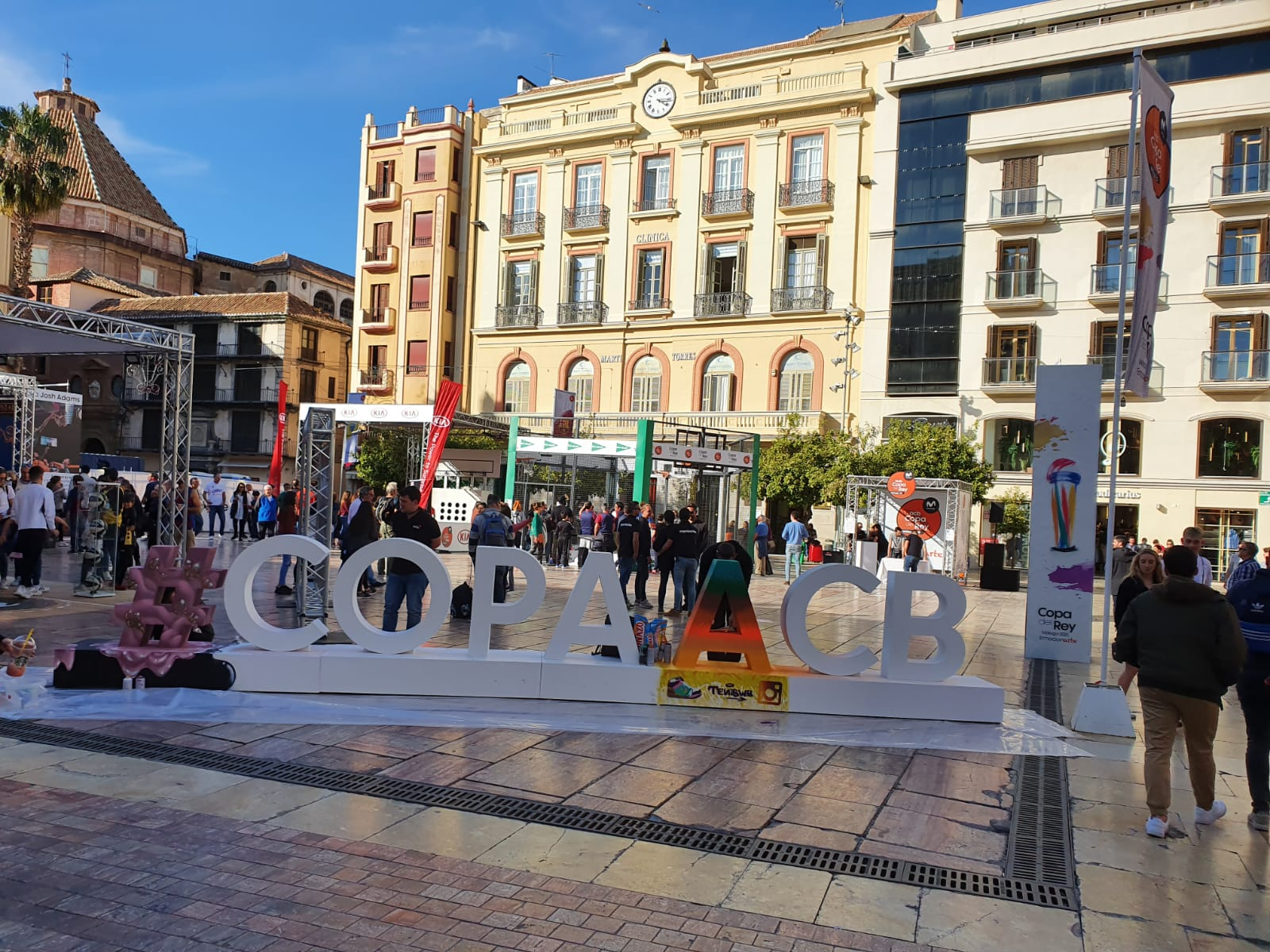 Málaga, capital del baloncesto