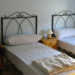 Host family with half board, double room
